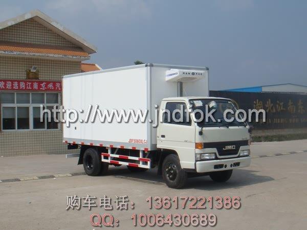 江铃冷藏车,五十铃冷藏车,小型冷藏车,长安冷藏车,面包式冷藏高清图片