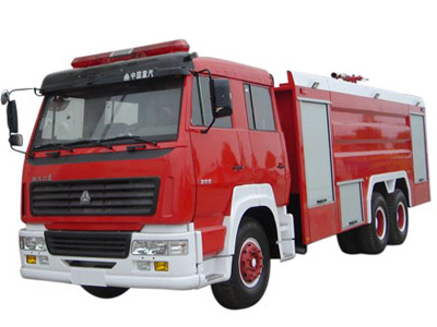 干粉消防車